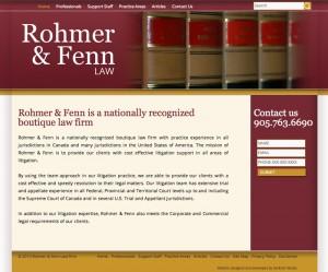 rohme fenn law website