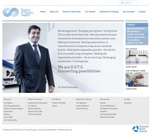 Doctors of Thoracic Surgery Wordress Theme