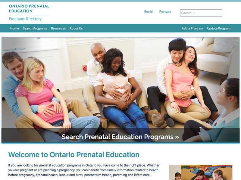 Ontario Prenatal Education