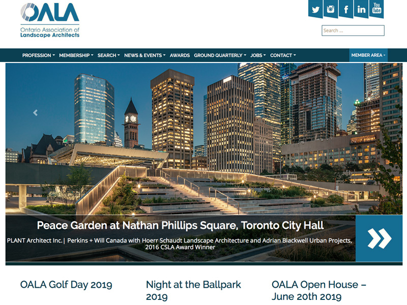 Ontario Association of Landscape Architects (OALA)